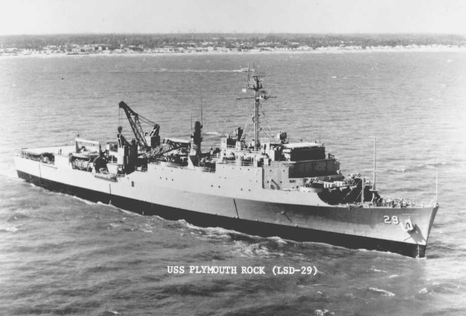 USS Plymouth Rock (LSD-29)