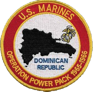 ITEM 23: Operation Power Pack (USMC) patch